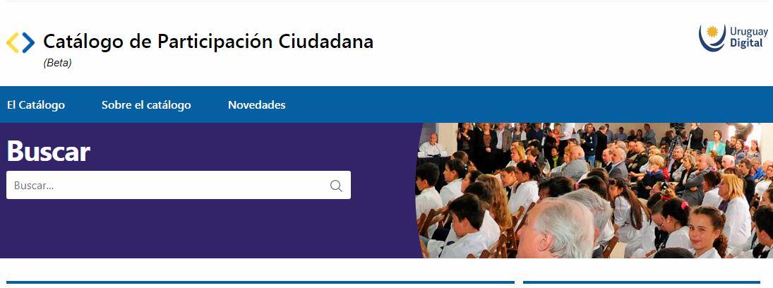 Visualizador de ambitos de participación ciudadana